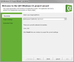 qt programming visual studio how to create a qt application