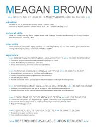 Sports Marketing Resume Examples by Resume Template Cv Templates Free Download Word The Unlimited In