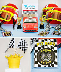 cing birthday party bold fast classic race car birthday party hostess with the