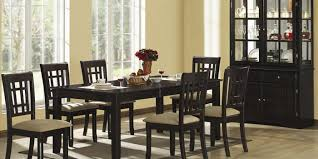 wood dining room sets dining room furniture coaster fine furniture dining room