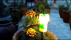 outdoor mushroom lights how to make a garden led lamp beautiful and decoration youtube