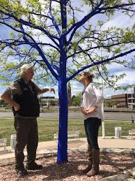 the real lorax talks about painting trees blue in denver