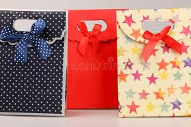 present bags present bags stock photo image of gift purchase bring 28657628