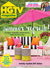 hgtv magazine july august 2016 hgtv