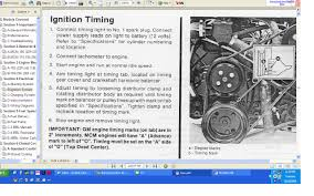 timing procedure for 1992 mercruiser 4 3 alpha one thunder