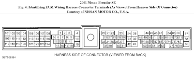 i have a 2001 nissan frontier se xe w 3 3l 6cyl engine no