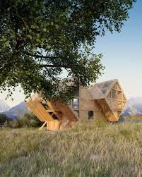 plan bureau integrates asymmetric valley house into the natural valley house plan bureau architects designboom