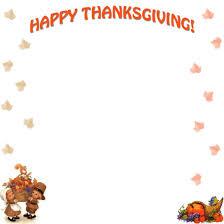 thanksgiving border clipart gclipart