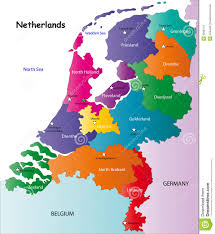 Map Netherlands Netherlands Map Stock Vector Image Of Contour Borders 6299779