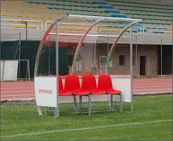 panchina di calcio panchine calcio riserve ed allenatori sport system