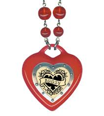 pendant necklace lengths images Retro vintage jewelry and accessories heart of hearts name jpg