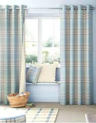 gingham blue curtains gingham blue kitchen curtain baby blue