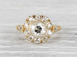 Vintage Wedding Rings by History Of Engagement Rings Erstwhile Jewelry