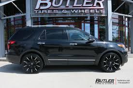 Ford Explorer Upgrades - ford explorer custom wheels lexani css 15 22x et tire size