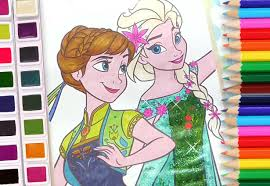 elsa anna coloring book disney frozen coloring pages kids