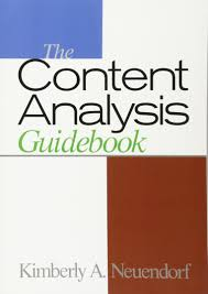 the content analysis guidebook kimberly a neuendorf