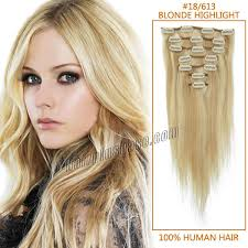 20 inch hair extensions inch 18 613 highlight clip in remy human hair extensions 7pcs