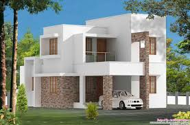 2100 Sq Ft House Plans by Kerala Style Contemporary Villa Elevation And Plan At 2035 Sq Ft