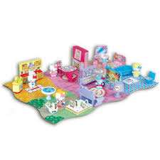 home sweet home play set hello kitty toys at the works