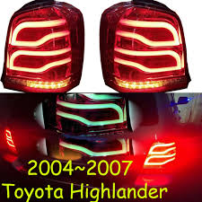 2004 tundra tail light highlander taillight 2004 2007year led free ship vios corolla hiace