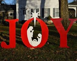Outdoor Decorative Signs Outdoor Christmas Signs Etsy