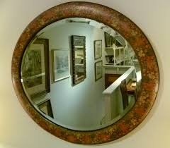 decorative antique wall mirrors landscape garden oil painting