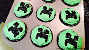 minecraft cupcakes minecraft creeper cupcakes merry about town
