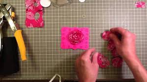 Lapel Flower Fabric Flower Lapel Pin Youtube
