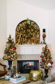 small decorative trees for mantle my web value
