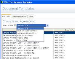 sx3 software loan modification software short sale software