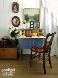Secretary Style Desks Secretary Desk With English Cottage Style Prodigal Pieces