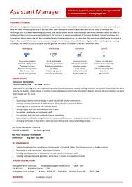 Assistant Manager Resume Example by Assistant Manager Restaurant Resume Example 4 Ilivearticles Info