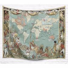 the british empire tapestry 100 polyester printing for wall