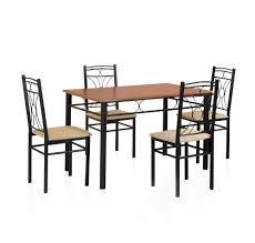 neelkamal dining table buy sidney 4 seater dining set home by nilkamal black online