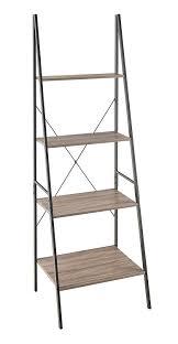amazon com closetmaid 1316 ladder shelf gray home u0026 kitchen