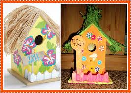tiki birdhouse craft u2013 miss frugal mommy