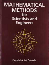 mathematical methods for scientists u0026 engineers donald a