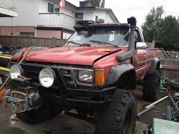 toyota pick up lifted 87 toyota pickup 22r snorkel 37s winch 1000 should i go