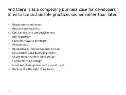 sustainable land development
