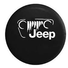 jeep cj grill logo jeep vintage off road grill logo jk tj cj spare tire cover oem vinyl