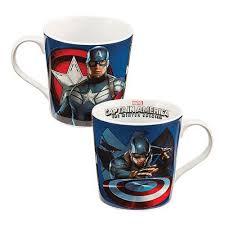 Captain America Decor Captain America The Winter Soldier Ceramic Mug Geek Decor