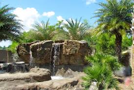 Extreme Backyard Design by Backyard Waterfall Resort Trends New Orleans Style