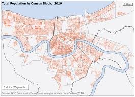Map Of New Orleans Louisiana Population U0026 Demographics The Data Center