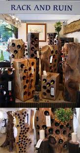 best 25 wood wine racks ideas on pinterest wall mounted wine