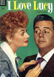 Desi Arnaz And Lucille Ball Ambitious With Balls I Love Lucy