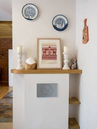 historical studio apartment with folk motifs u0026 brick wall home