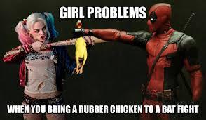 Deadpool Funny Memes - harley quinn vs deadpool deadpool wade wilson know your meme
