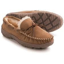 clarks moc shearling slippers for men save 47