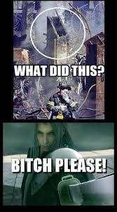 Video Games Memes - kupo 1up sephiroth did it video games memes pinterest video