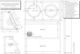 Diy Speaker Box Schematics Diy Custom Sub Box Install Pics And Plans Page 4 Rx8club Com